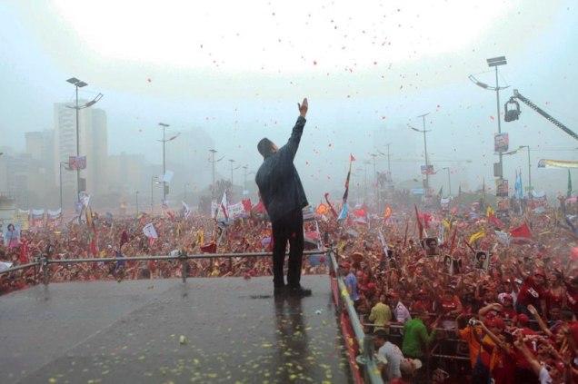 4 Oct 2012 Cierre de campaña en la Av Bolivar y 7 Avenidas  mas