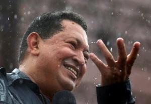 Chavez y la lluvia