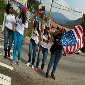 venezuelacuandolosricosprotestan_